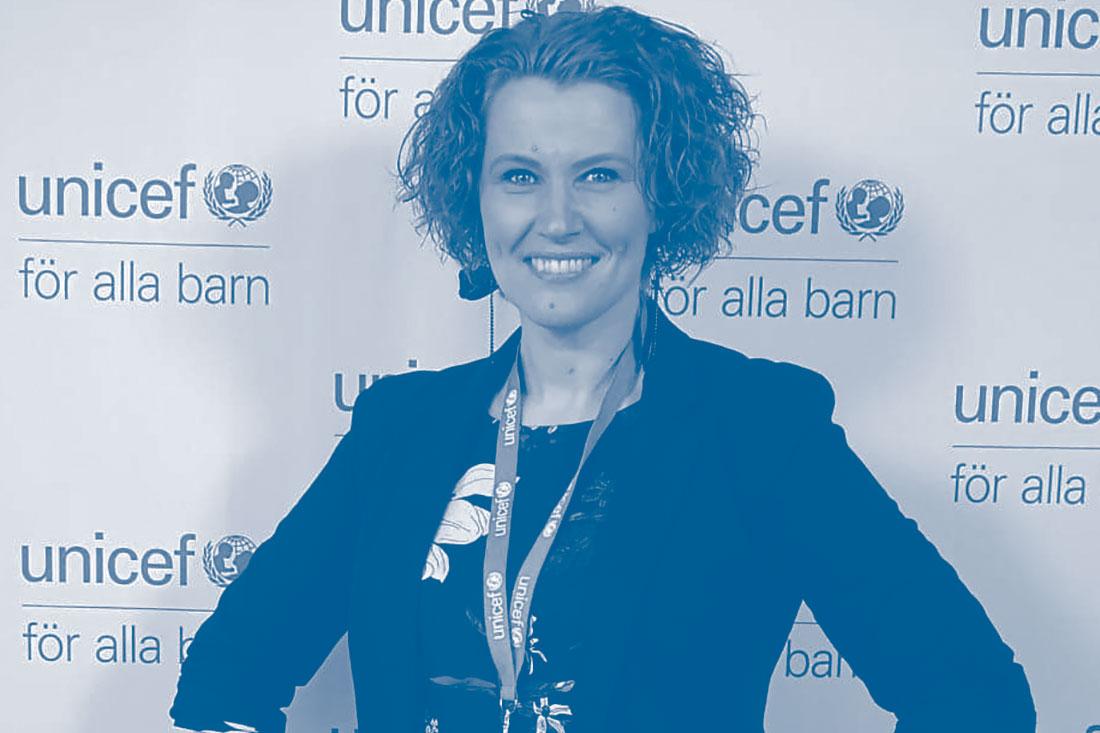 Cecilia Åhl, UNICEF Sverige